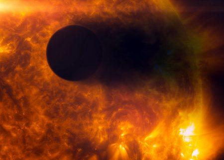 Wizja artystyczna HD 189733 b. Fot. NASA