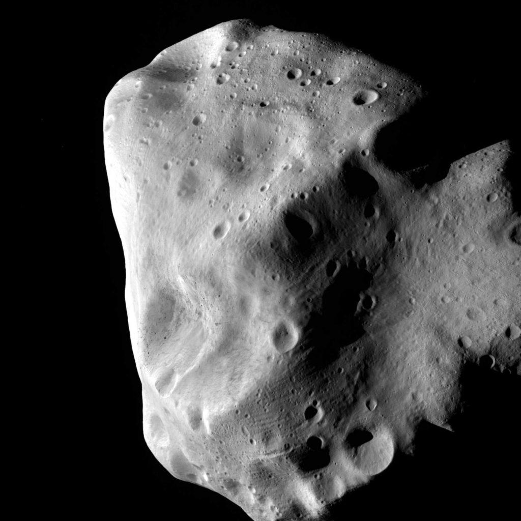 Planetoida (21) Lutetia. Fot. ESA