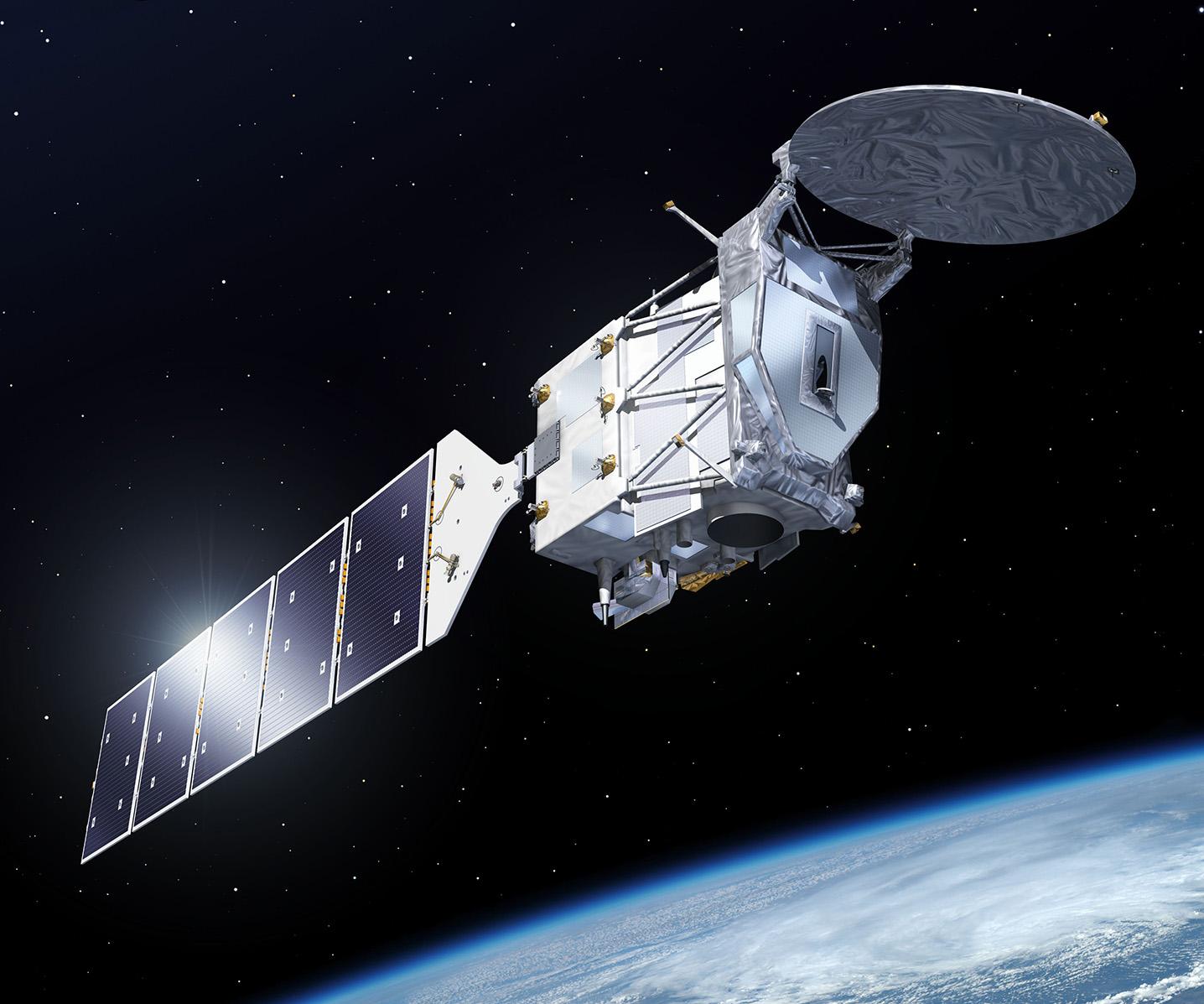 EarthCARE – odpowiedź Europy i Japonii na misję CloudSat-CALIPSO. Tym razem radar i lidar będą zainstalowane na jednym satelicie. Ryc. ESA.
